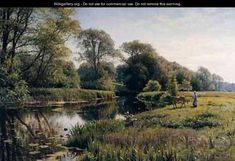 peder monsted paintings - Google Search
