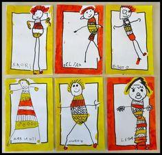 Collage Art Kids Self Portraits 20 Super Ideas Kindergarten Self Portraits, Kindergarten Art, Preschool Art, Self Portrait Kids, Portraits For Kids, Classe D'art, Art Du Collage, Art Lesson Plans, Art Classroom