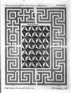 Decorative Arts: The city and country builder's and workman's treasury of designs, or, The art of drawing and working the ornamental parts of architecture: Decorations and borders