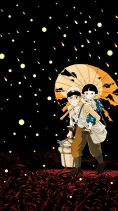 Grave of the Fireflies (1988) Phone Wallpaper | Moviemania