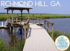 Richmond Hill, GA: The 26th safest city in Georgia