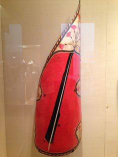 Hungarian-style, wing-shaped shield. 16th century AD. Light cavalry shield with the elongated tip used to protect the back of the head and neck from saber cuts.