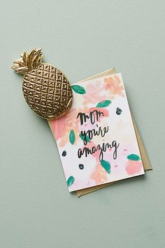 Anthropologie Pineapple Clip