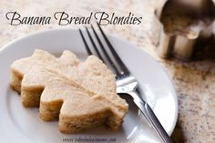 Banana Bread Blondies with a Buttercream Frosting