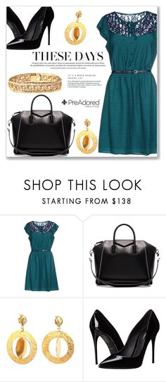 """""""Pre Adored 6/II"""" by amra-mak ❤ liked on Polyvore featuring LIU•JO, Givenchy, Dolce&Gabbana, vintage and PreAdored"""