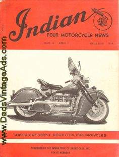 1974 Winter Indian Four Motorcycle News – America's Most Beautiful Motorcycles