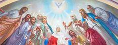 Τι γιορτάζουμε του Αγίου Πνεύματος- Γιατί ονομάζουμε τη γιορτή και Πεντηκοστή Portal, Greece, Princess Zelda, Culture, Painting, Fictional Characters, Greece Country, Painting Art, Paintings