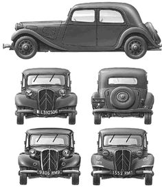 Citroen Traction - Avant