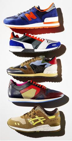 5 Stylish Men's Sneakers for Spring