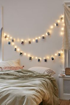 Shop Mod Clips String Lights at Urban Outfitters today. We carry all the latest styles, colors and brands for you to choose from right here. Cozy Bedroom, Modern Bedroom, Bedroom Decor, Bedroom Ideas, Contemporary Bedroom, Bedroom Designs, Bedroom Inspiration, Bedroom Windows, Bedroom Curtains