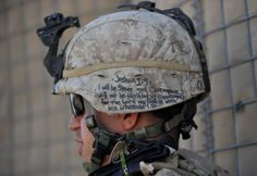 """Soldier claiming Joshua - """"Be strong and of good courage; do not be afraid, nor be dismayed, for the Lord your God is with you wherever you go."""" Keep him & his brothers & sisters safe, Lord!"""
