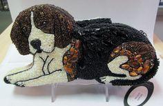 Mary Frances  dog handbag #MaryFrances #EveningBag