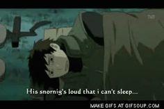 naruto, sleeping, Yamato