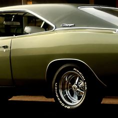 '69 Charger. This is the classic line that everyone fell in love with.