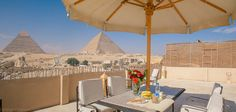 Guardian Guest House, Giza, Egypt. Opposite the Pyramids and Sphinx