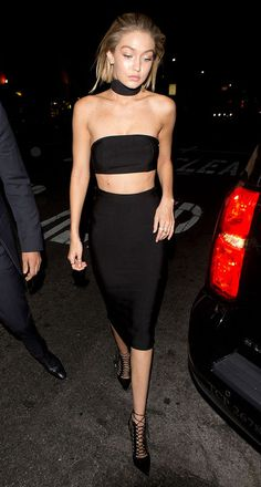 gigi-hadid-black-crop-top-amas-2015-after-party-outfit