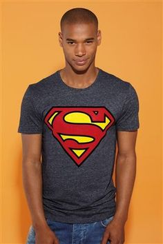 Navy Superman® T-Shirt