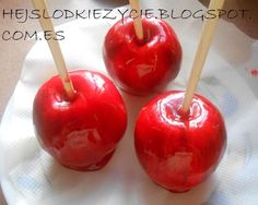Manzanas de Blanca Nieves-Fiesta Halloween 2014