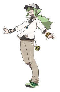 n trainer pokemon | Pokemon N