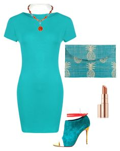 """""""Dress"""" by stylebooster on Polyvore featuring Kayu, WearAll, Christian Louboutin and Estée Lauder"""
