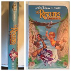 The Rescuers Down Under Black Diamond Collectors VHS FREE SHIPPING  | eBay