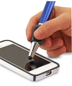 - Works on ALL Touchscreens - Great for Kids & Adults - The ONLY Stylus with the #1 Ergonomic Writing Aid - Ideal for Drawing and Handwriting Apps - Writes as Easily as a Pen!
