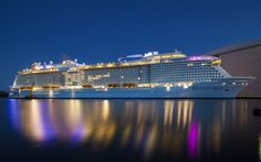 Ovation of the Seas: la vinfografica del suo trasferimento