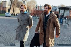 billy-george:  Brothers in style Spotted at Pitti Uomo 89 Photo by Dan Roberts