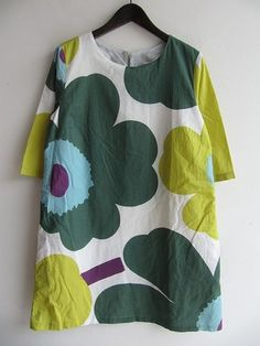As with all things Marimekko,  it's about their great fabric design.