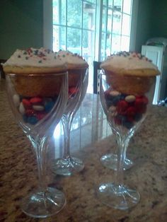 My 4th of July desserts  :)