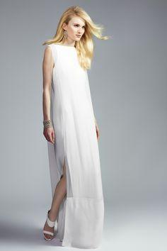 Net a Porter lanza una exclusiva colección de vestidos de novia: el modelo geométrico de Hussein Chalayan