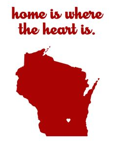 """16x20 """"Home is where the Heart is"""" canvas"""