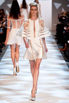 Georges Chakra Spring 2013 Couture Collection - Fashion on TheCut