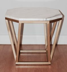 Mesa Octógono de mármol y estructura metálica. Indima Home. Made in Spain. Tables, Metal, Furniture, Design, Home Decor, Square Tables, House Decorations, Interiors, Mesas