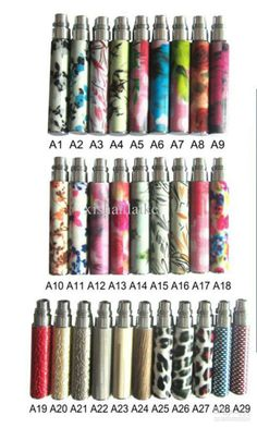 new ego colorful Battery ,ego color battery electronic Cigarette Batteries ,e cig battery