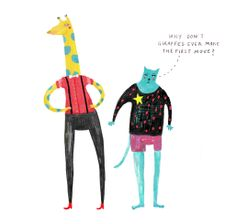 illustration #jordanbruner #mixedmedia #characterdesign #illustration #handdrawn #crayons