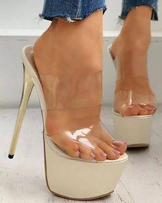 Trend Fashion, Estilo Fashion, Women's Fashion, Feet Soles, Women's Feet, Pumps Heels, Stiletto Heels, Stripper Heels, Hot High Heels