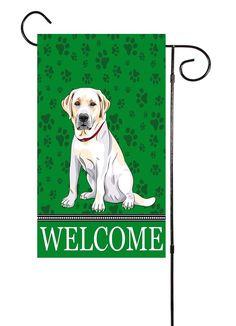 Labrador Retriever Garden Flag