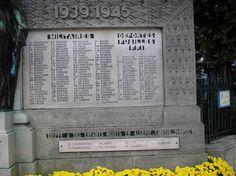 Victimes civiles et Militaires et les Déportés fusillés  F.F.1 1939-1945.  Dieppe à ses enfants morts en Algérie, Tinusie.