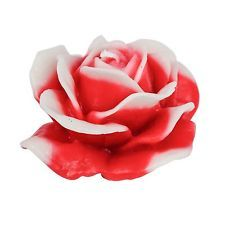 FYORS Handmade Scented Red Rose Candles Gift for any Occasion and Decoration