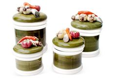 Vegetable Canisters,  S/4