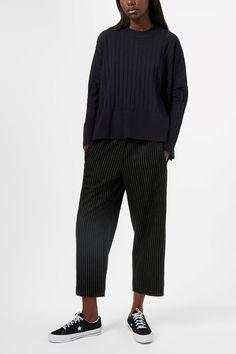 Weekday image 2 of Ron Sweater in Blue Reddish Dark