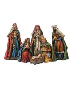 Take a look at this Nativity Figurine Set by Transpac Imports on #zulily today!