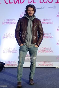 Spanish actor Yon Gonzalez attends 'El Club de los Incomprendidos' photocall at the ME Hotel on December 16, 2014 in Madrid, Spain