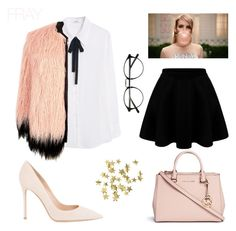 """""""Chanel Oberlin Style"""" by vlada-patrik on Polyvore featuring Michael Kors, Gianvito Rossi, Murphy, MANGO, River Island and H&M"""