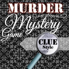 Reusable Murder Mystery Game Clue Style INSTANT by TimeSavors
