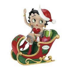 betty boop christmas ornaments | The First Annual Betty Boop Ornament - The Danbury Mint