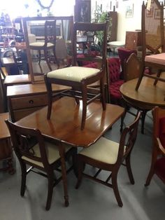 Looking For A New Dining Set Table With 4 Chairs And 2 Leafs That