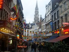 Brussels Belgium ~ My 2nd most favorite city.