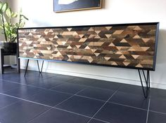 Recycled Timber Sideboard  Modern Cabinet by MichaelShelleyDesign